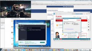 My OS X Sceen@Marmorplatte 2