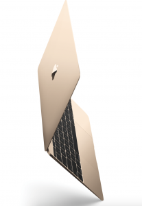 gold mac book