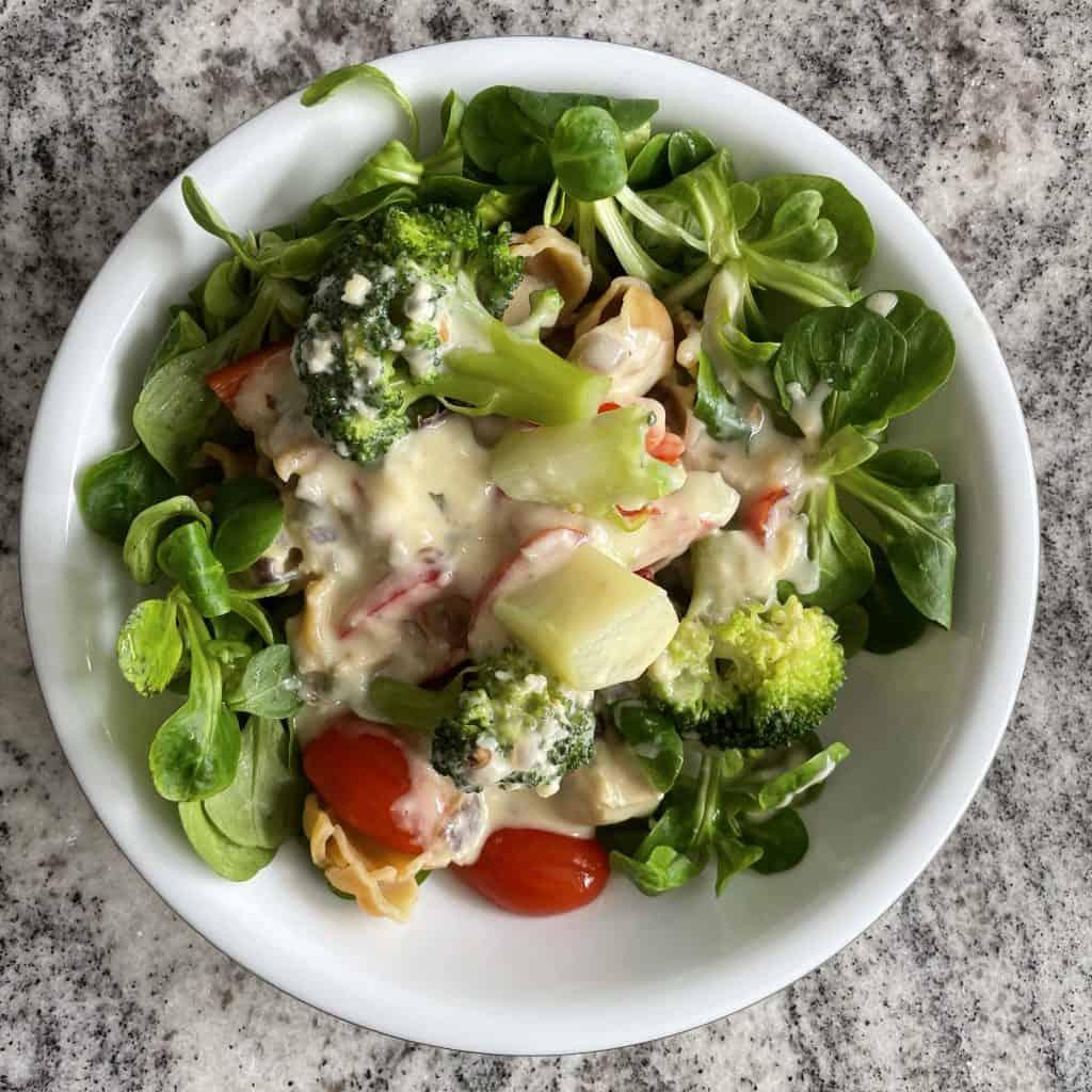 Gorgonzolanudekn mit Brokoli