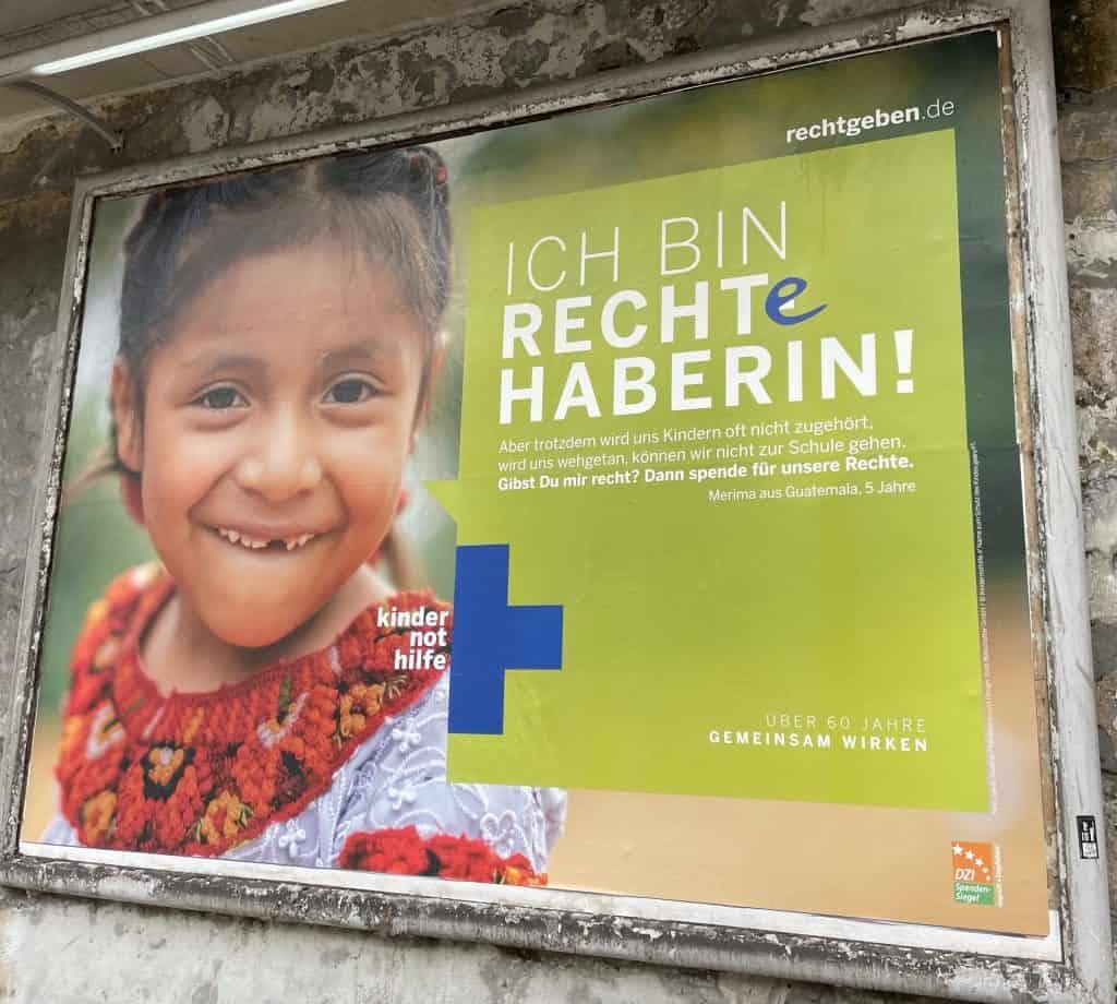 Kindernothilde: Ich bin eine Rechtehanerin!