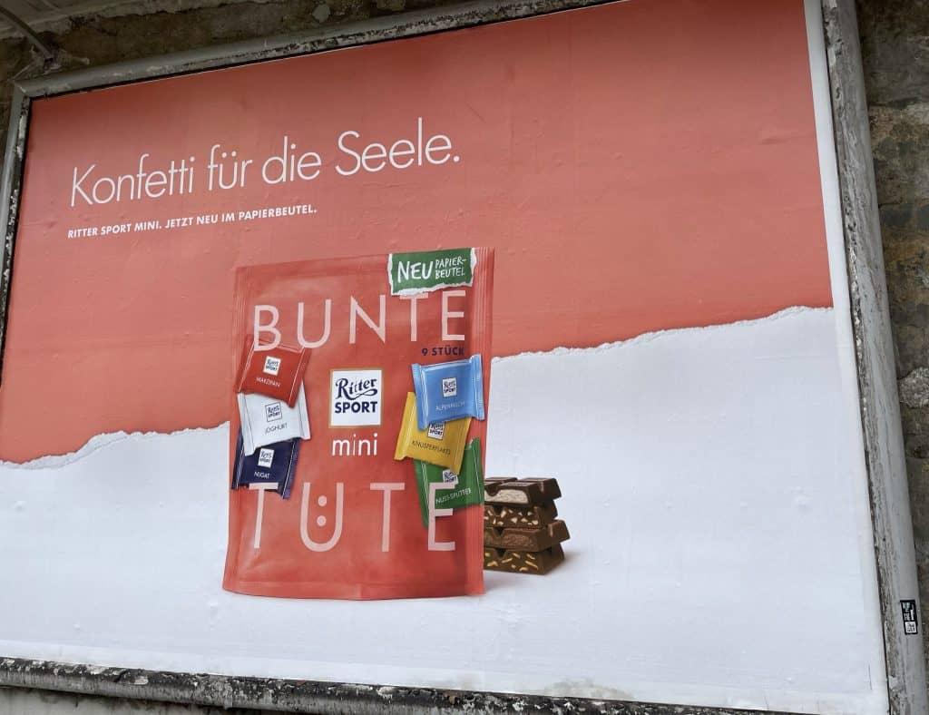 Ritter Sport Reklame