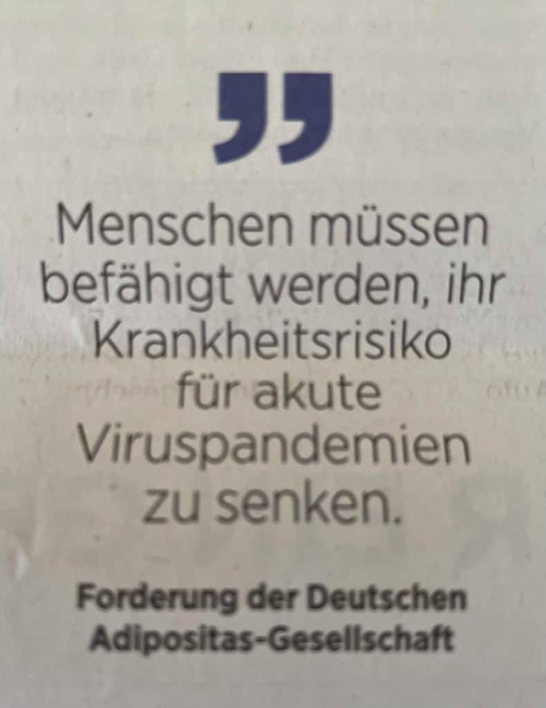 Zitat der Deutschen Adipositas-Gesellschaft
