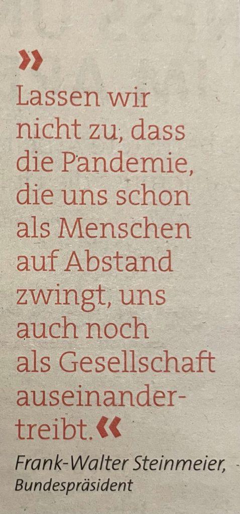 Zitat von Frank-Walter Steinmeier