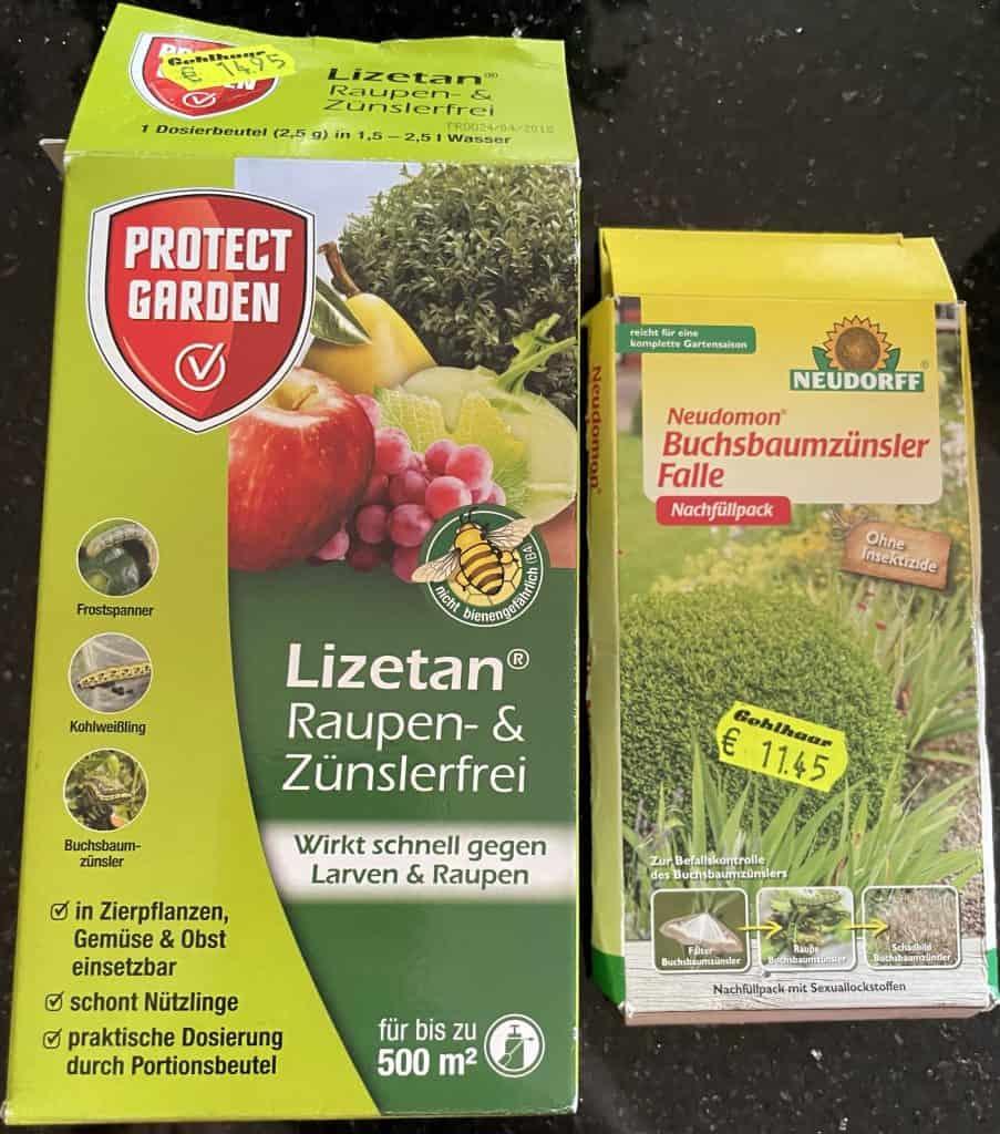 Mittel gegen buchsbaumzünsler
