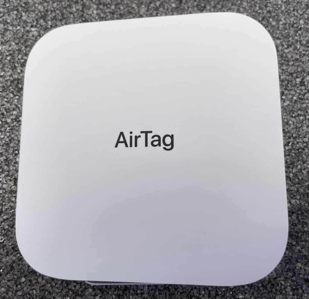 AirTag Innenverpackung geschlossen