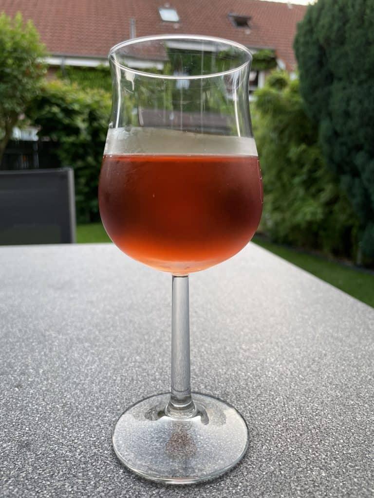 Gas mit Sommerwein