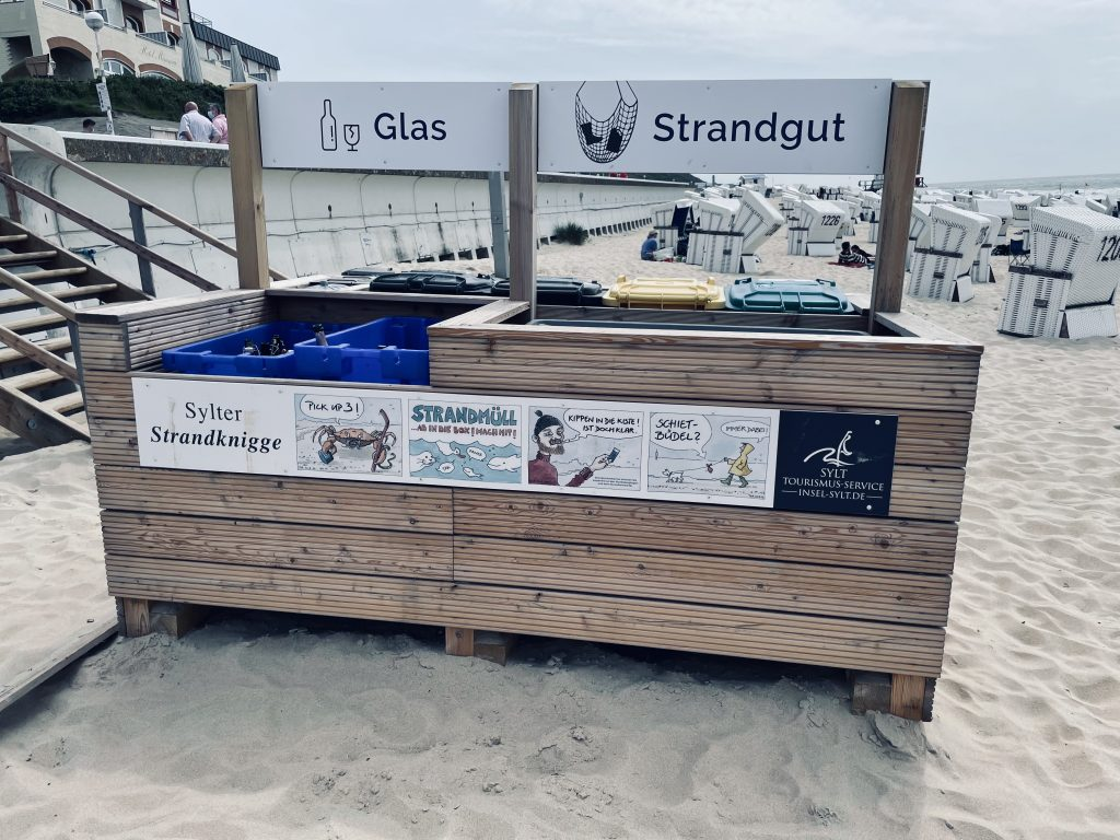 Westerländer Strandmülltrennung