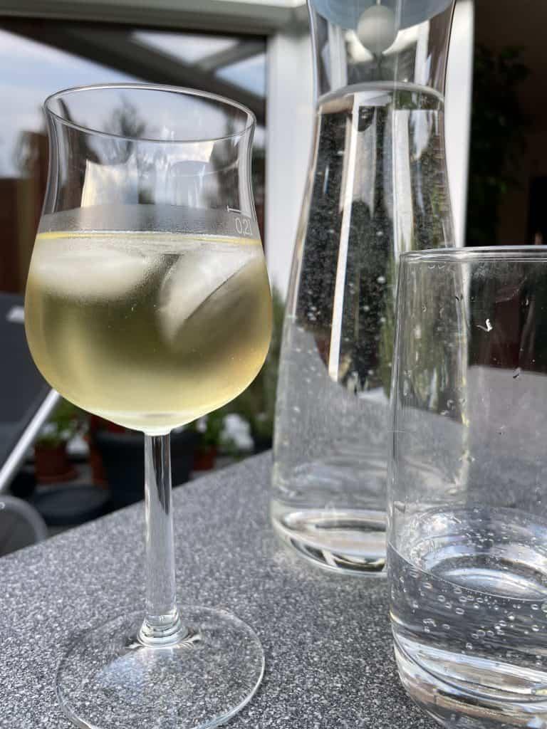 Weißwein und Selter