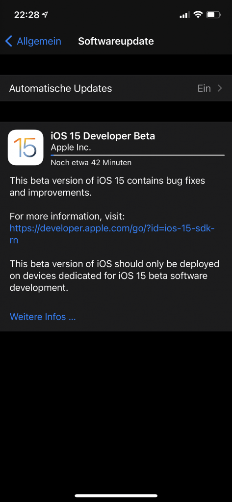 iOS 15 Install
