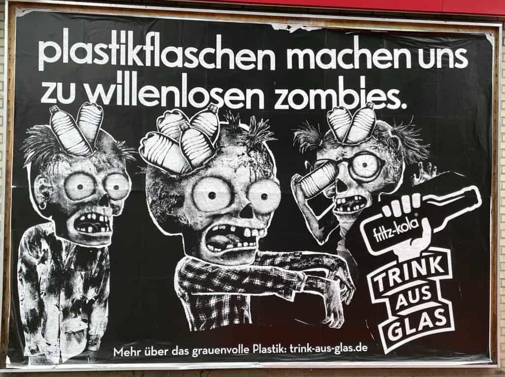 Fritz Kola Zombie-Reklame