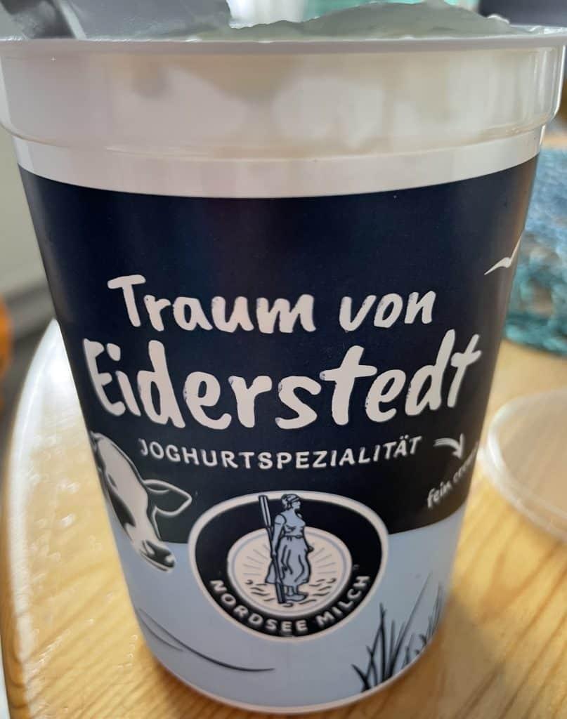Joghurtbecher Traum von Eiderstedt