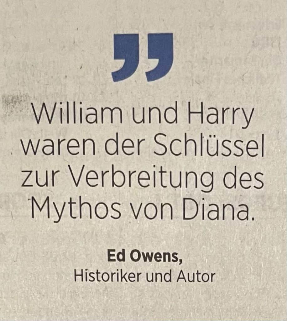Zitat zu Harry und William