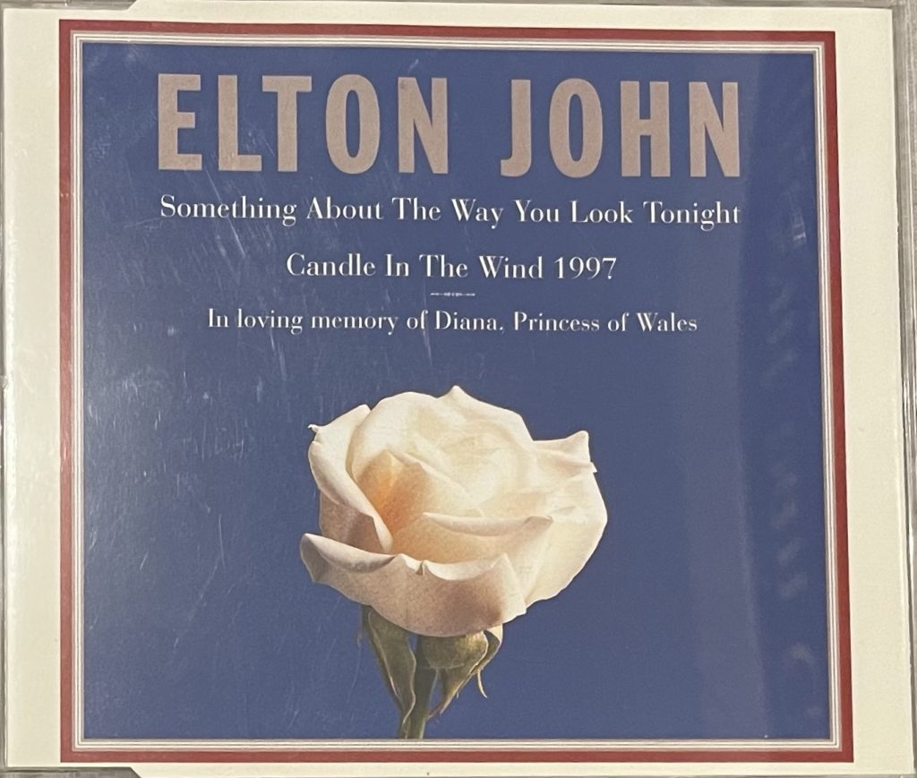 CD-Cover Candle in the wind