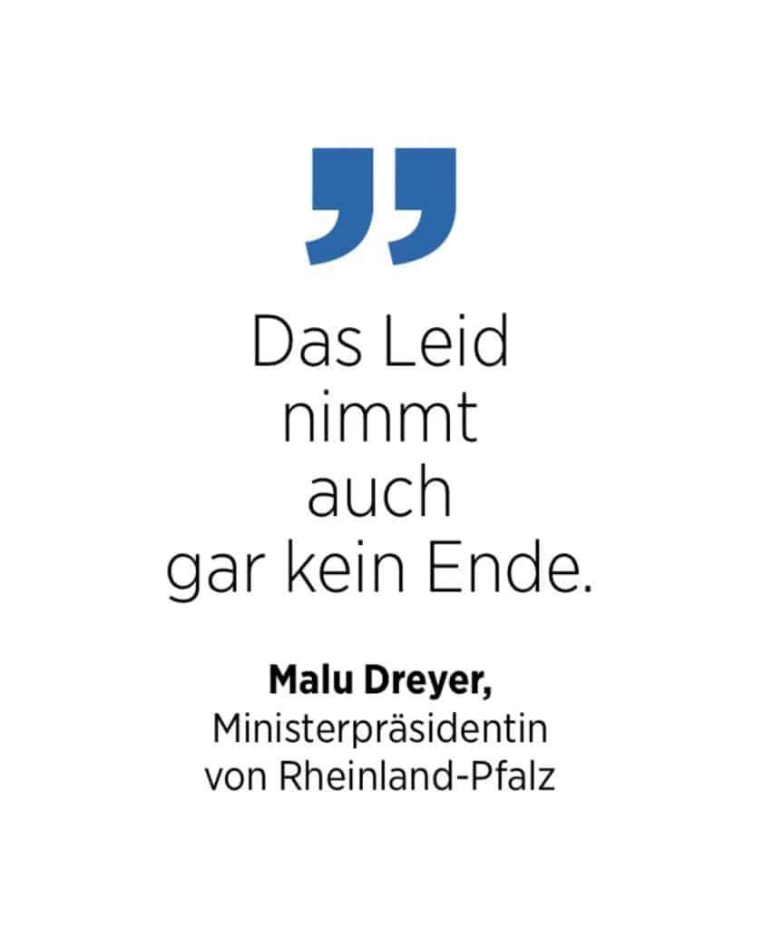 Malu Dreyer zur Katastrophe