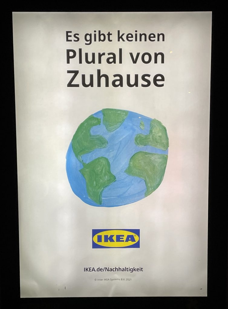 Ikea-Werbung zu Nachhaltigkeit