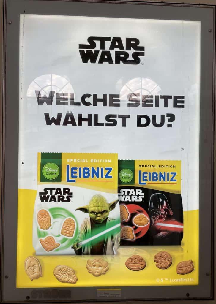 Bahlsen Star Wars Keksreklame