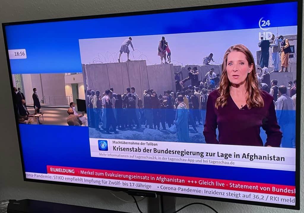 Tagesschau24 zu Afghanistan