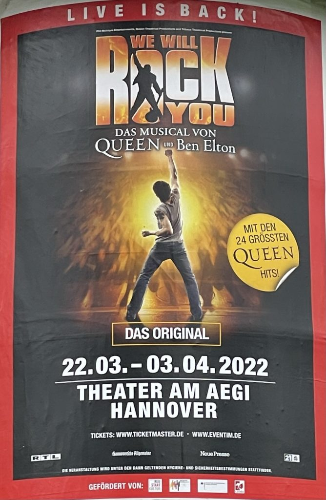 Theater am Aegi: Queen Musical: We will rock you