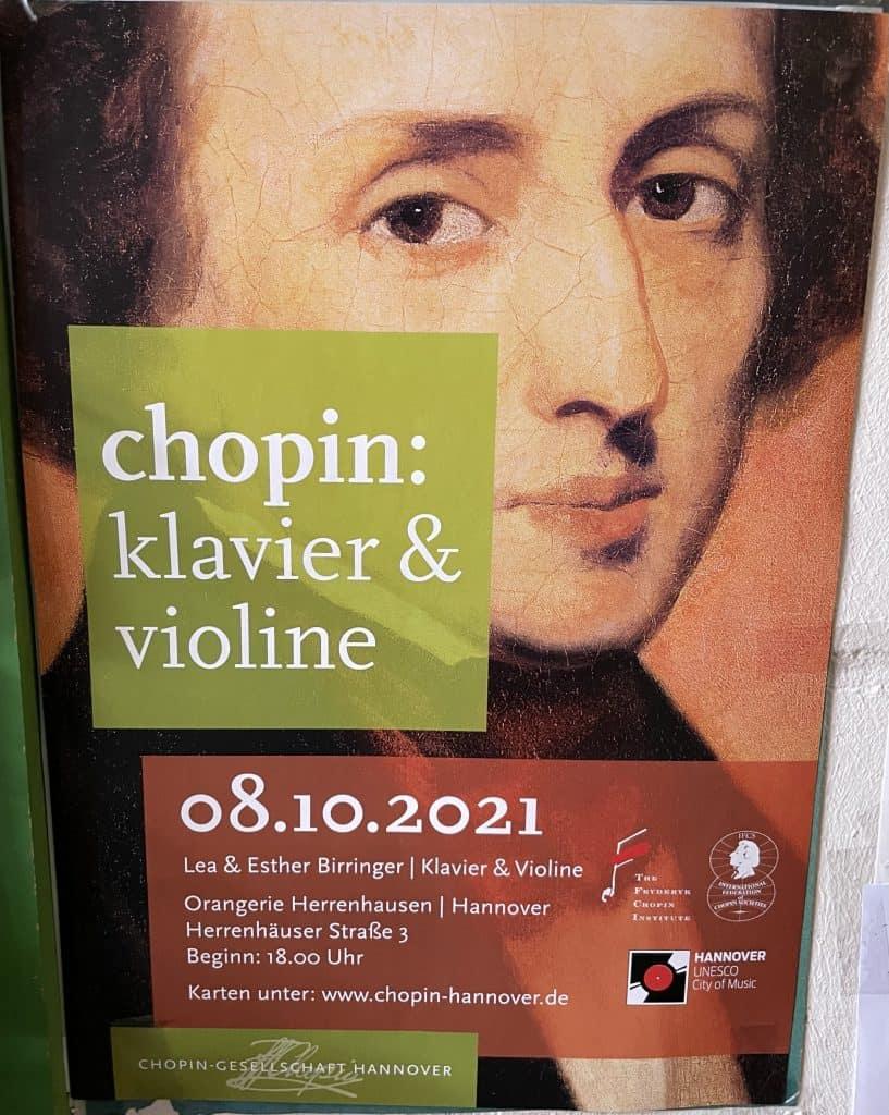Klassikkonzert der Chopingesellschaft