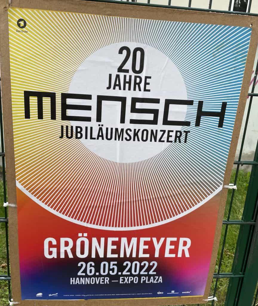 Grönemeyer: 20 Jahre Mensch Jubiläumskonzert