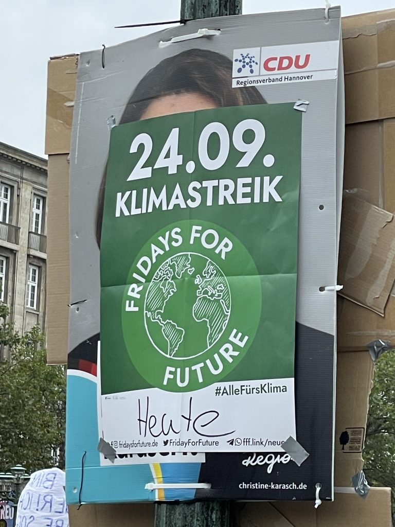 FFF-Streikplakat