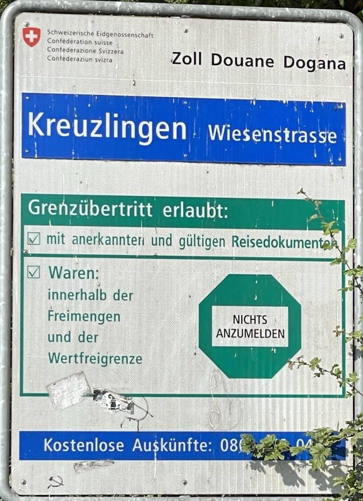 Grenzübertritt Konstanz-Kreuzlingen