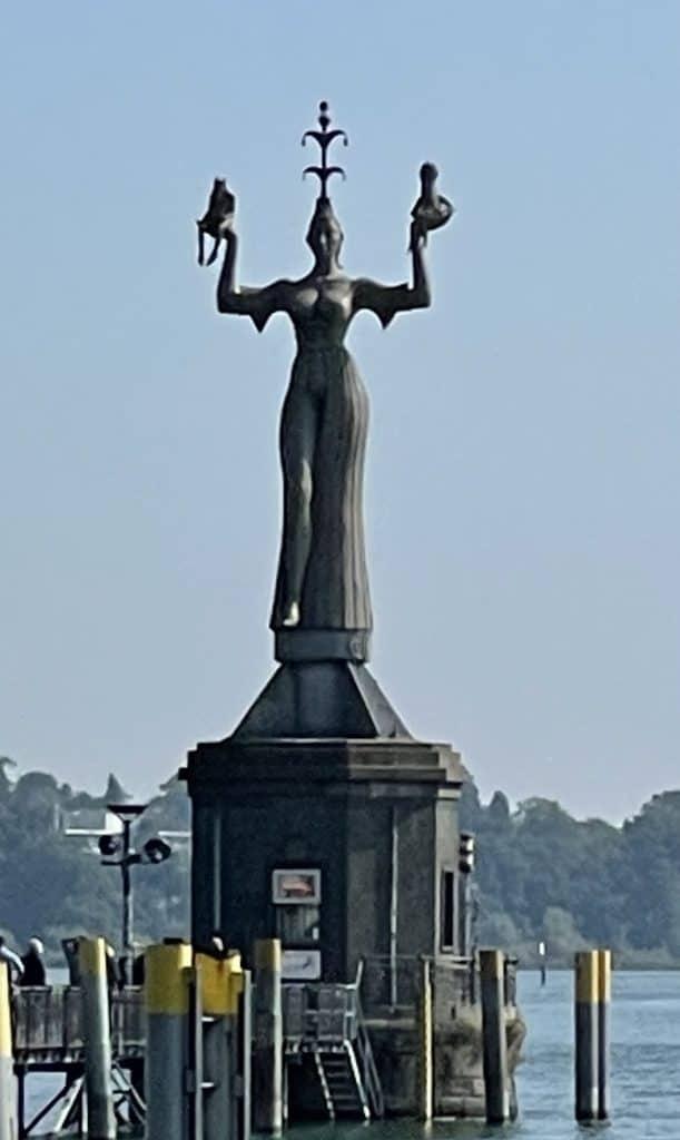 Imperia-Statue im Konstanzer Hafen
