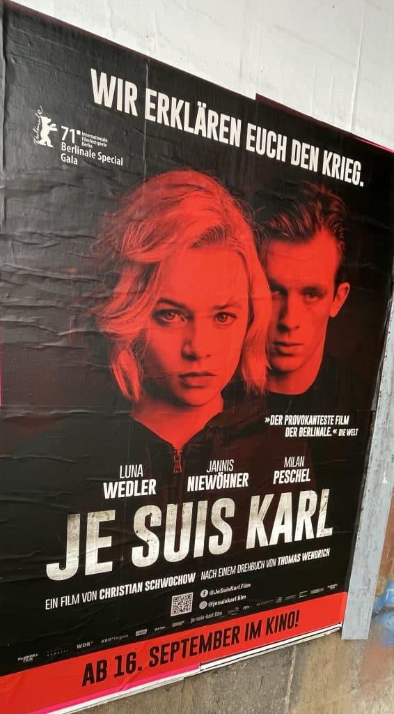 Filmplakat von Je suis Karl